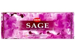 Wholesale Hem Sage Incense 20 Stick Packs (6/Box)