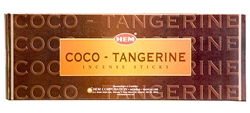 Wholesale Hem Coco-Tangrine Incense 20 Stick Packs (6/Box)