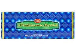 Wholesale Hem Frank-Myrrh Incense 20 Stick Packs (6/Box)
