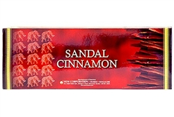 Wholesale Hem Sandal-Cinnamon Incense 20 Stick Packs (6/Box)