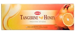Wholesale Hem Tangrine-Honey Incense 20 Stick Packs (6/Box)
