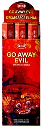 Wholesale Hem Go Away Evil Incense 20 Stick Packs (6/Box)
