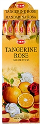 Wholesale Hem Tangerine-Rose Incense 20 Stick Packs (6/Box)