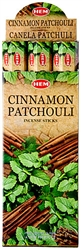 Wholesale Hem Cinnamon-Patchouli Incense 20 Stick Packs (6/Box)