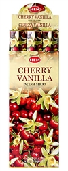 Wholesale Hem Cherry-Vanilla Incense 20 Stick Packs (6/Box)