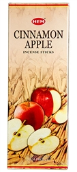 Wholesale Hem Cinnamon-Apple Incense 20 Stick Packs (6/Box)
