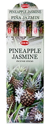 Wholesale Hem Pinneapple-Jasmine Incense 20 Stick Packs (6/Box)