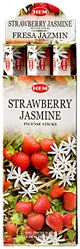 Wholesale Hem Strawberry-Jasmine Incense 20 Stick Packs (6/Box)