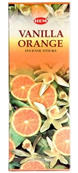 Wholesale Hem Vanilla-Orange Incense 20 Stick Packs (6/Box)