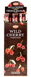 Wholesale Hem Wild Cherry Incense 20 Stick Packs (6/Box)