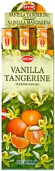 Wholesale Hem Vanilla-Tangerine Incense 20 Stick Packs (6/Box)