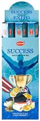 Wholesale Hem Success Incense 20 Stick Packs (6/Box)