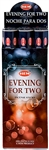 Wholesale Hem Evening For Two Incense 20 Stick Packs (6/Box)
