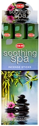 Wholesale Hem Soothing Spa Incense 20 Stick Packs (6/Box)