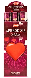 Wholesale Hem Aphrodisia Incense 20 Stick Packs (6/Box)