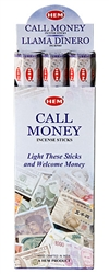 Wholesale Hem Call Money Incense 20 Stick Packs (6/Box)