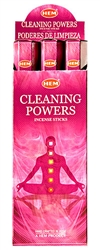 Wholesale Hem Cleaning Powers Incense 20 Stick Packs (6/Box)