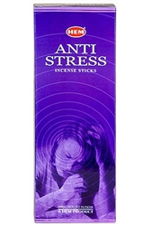Wholesale Hem Anti-Stress Incense 20 Stick Packs (6/Box)