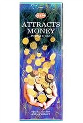 Wholesale Hem Attracts Money Incense 20 Stick Packs (6/Box)