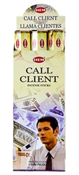 Wholesale Hem Call Client Incense 20 Stick Packs (6/Box)