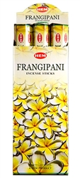 Wholesale Hem Frangipani Incense 20 Stick Packs (6/Box)