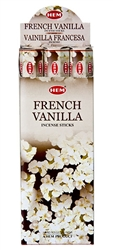 Wholesale Hem French Vanilla Incense 20 Stick Packs (6/Box)