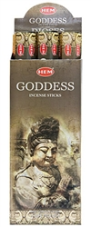 Wholesale Hem Goddess Incense 20 Stick Packs (6/Box)