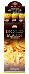 Wholesale Hem Gold Rain Incense 20 Stick Packs (6/Box)