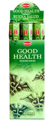 Wholesale Hem Good Health Incense 20 Stick Packs (6/Box)