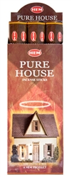 Wholesale Hem Pure House Incense 20 Stick Packs (6/Box)