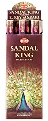 Wholesale Hem Sandal King Incense 20 Stick Packs (6/Box)