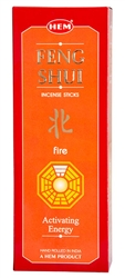 Wholesale Hem Feng Shui Fire Incense 20 Stick Packs (6/Box)