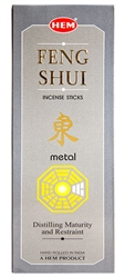 Wholesale Hem Feng Shui Metal Incense 20 Stick Packs (6/Box)