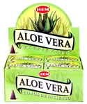 Wholesale Hem Aloe Vera Cones 10 Cones Pack (12/Box)