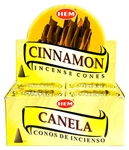 Wholesale Hem Cinnamon Cones 10 Cones Pack (12/Box)