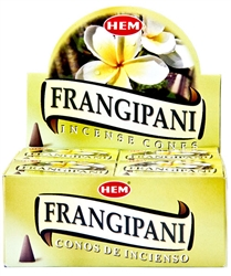 Wholesale Hem Frangipani Cones 10 Cones Pack (12/Box)