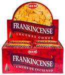 Wholesale Hem Frankincense Cones 10 Cones Pack (12/Box)
