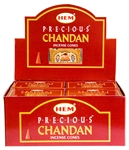 Wholesale Hem Precious Chandan Cones 10 Cones Pack (12/Box)