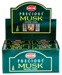 Wholesale Hem Precious Musk Cones 10 Cones Pack (12/Box)