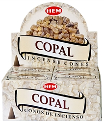 Wholesale Hem Copal Cones 10 Cones Pack (12/Box)