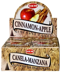 Wholesale Hem Cinnamon-Apple Cones 10 Cones Pack (12/Box)