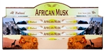 Wholesale Tulasi African Musk Incense 8 Stick Packs (25/Box)