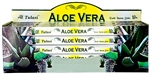 Wholesale Tulasi Aloe Vera Incense 8 Stick Packs (25/Box)