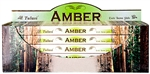 Wholesale Tulasi Amber Incense 8 Stick Packs (25/Box)