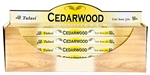 Wholesale Tulasi Cedarwood Incense 8 Stick Packs (25/Box)