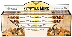 Wholesale Tulasi Egyptian Musk Incense 8 Stick Packs (25/Box)