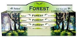 Wholesale Tulasi Forest Incense 8 Stick Packs (25/Box)