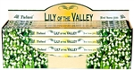 Wholesale Tulasi Lily of the Valley Incense 8 Stick Packs (25/Box)