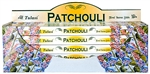 Wholesale Tulasi Patchouli Incense 8 Stick Packs (25/Box)