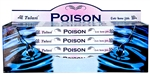 Wholesale Tulasi Poison Incense 8 Stick Packs (25/Box)